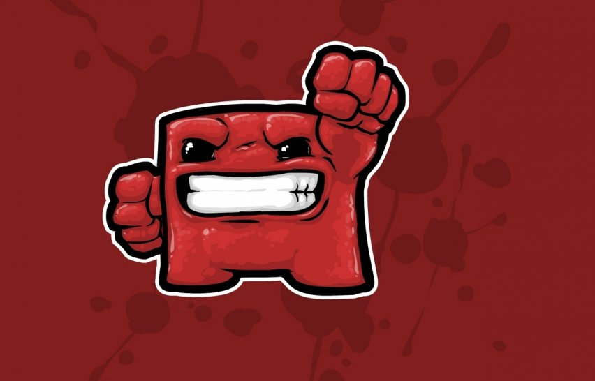 Super Meat Boy: collector's edition with an ultra-strange cover is coming