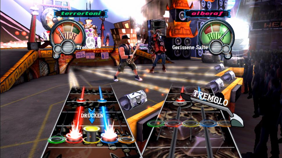 Guitar Hero III: Legends of Rock ist beim Umsatz noch vor Call of Duty: Black Ops. (1)