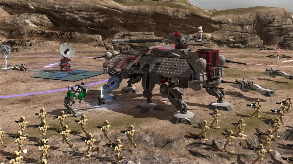 1. Lego Star Wars 3: The Clone Wars