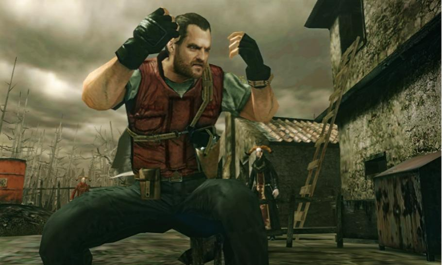 Die neuen Screenshots zeigen Barry Burton in Resident Evil: The Mercenaries 3D. (1)