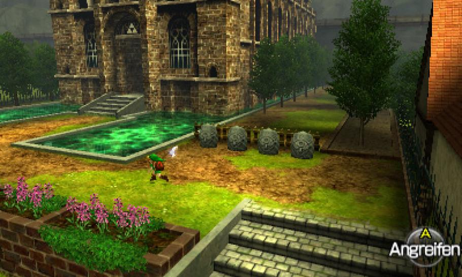 The Legend of Zelda: Ocarina of Time 3D - Komplettlösung - Screenshots aus dem 3DS-Remake (1)