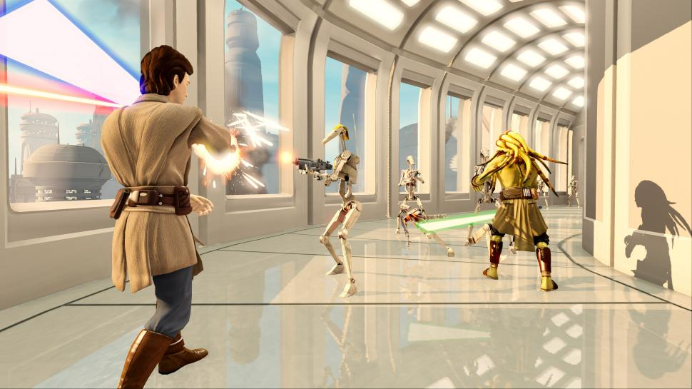 Star Wars Kinect - Neuer Live Action Trailer  (1)