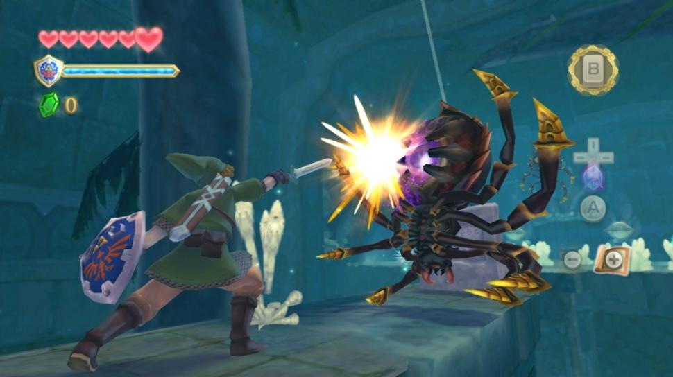 Es gibt ein neues Ingame-Video zu The Legend of Zelda: Skyward Sword. (1)
