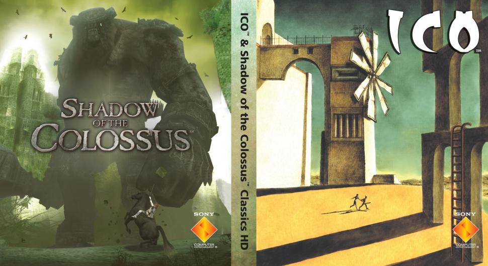 Ico & Shadow of the Colossus - PS3 Original-Cover zum Wenden
