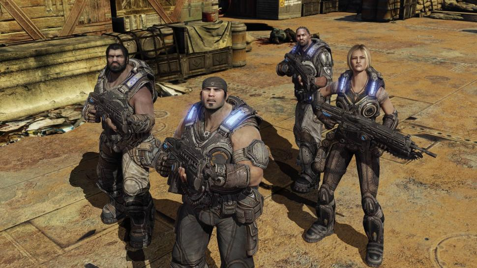 Gears of War 3 - Screenshots aus dem Xbox 360-Shooter von Epic Games. (1)