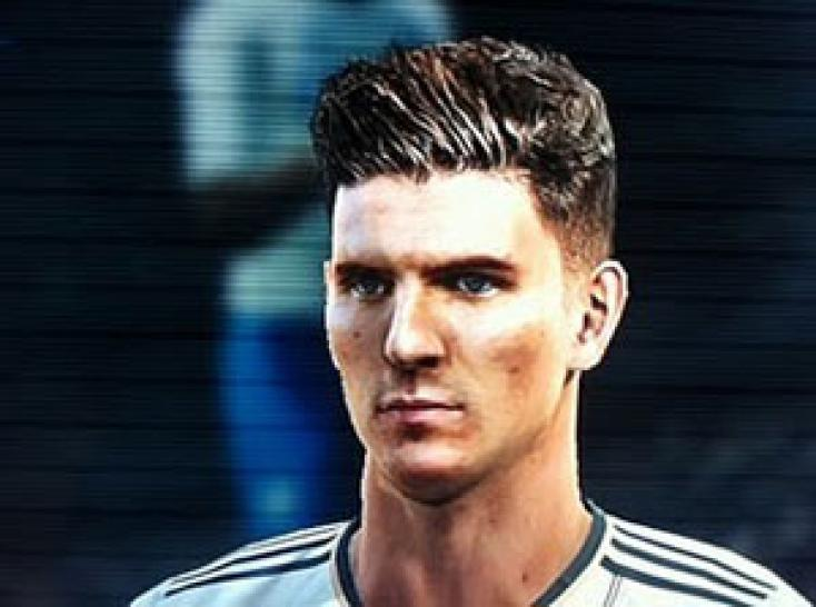 Mario Gomez in PES 2012 (DFB-Nationalelf).