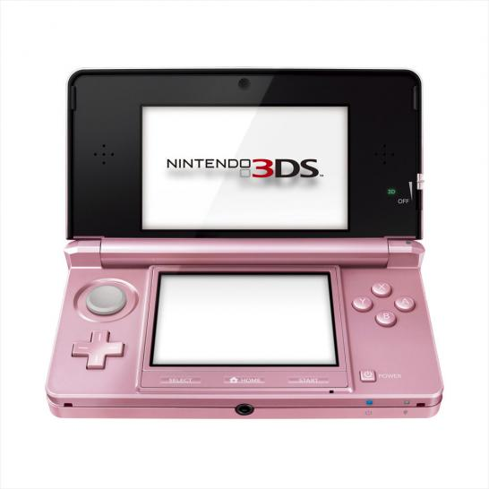 Nintendo 3DS - Misty Pink