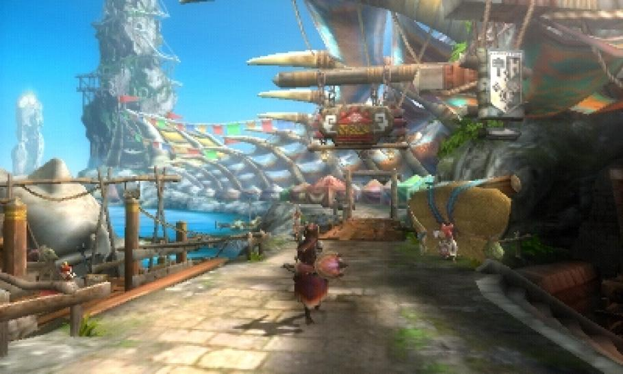Monster Hunter 3G - Neue Screenshots aus der Nintendo 3DS-Version (1)