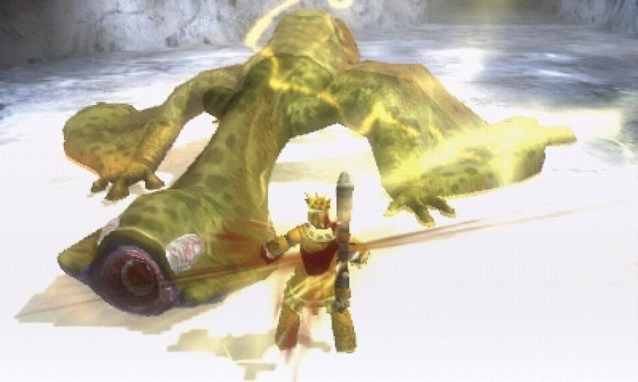 Monster Hunter 3G - Screenshots aus dem Nintendo 3DS-Ableger (1)