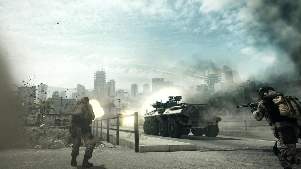 Screenshots aus dem Back to Karkand-DLC für Battlefield 3.  (1)