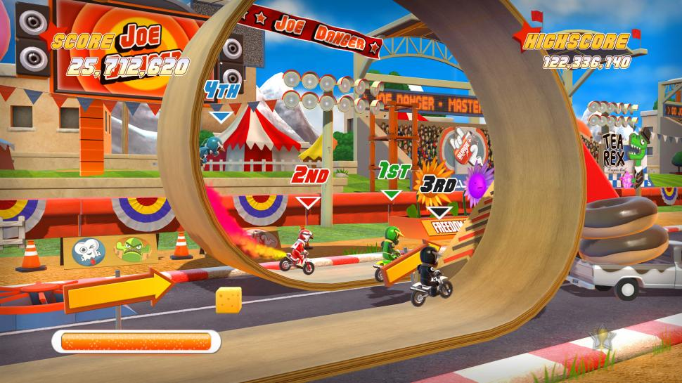 Joe Danger: Special Edition - Screenshots aus der XBLA-Version des Spiels. (1)