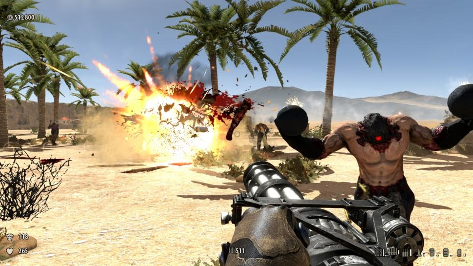Screenshots aus der PC-Version von Serious Sam 3: BFE. (1)