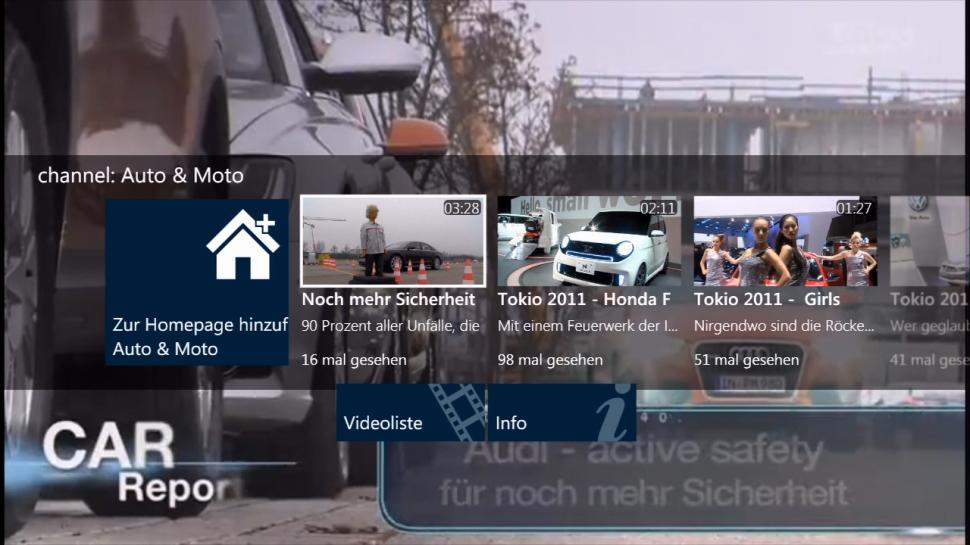 Dailymotion, MSN Video und Youtube auf der Xbox 360 - Screenshots nach dem Xbox 360-Dashboard-Update (1)