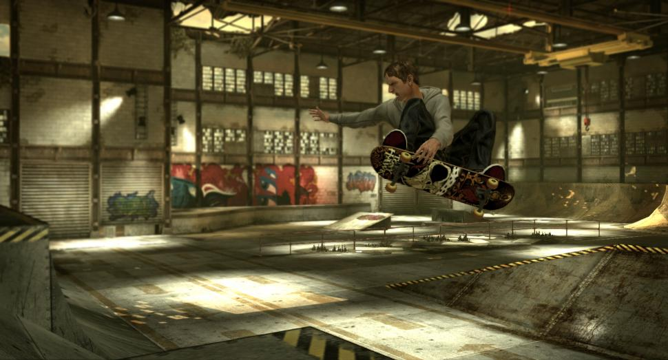 Tony Hawk's Pro Skater HD - Screenshots aus der Skateboard-Neuauflage. (1)