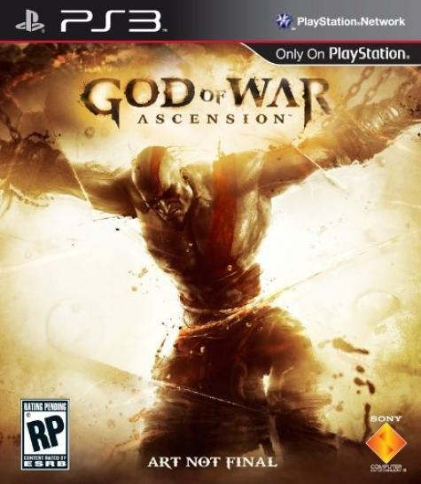 Das vorläufige Cover zu God of War 4: Ascension.