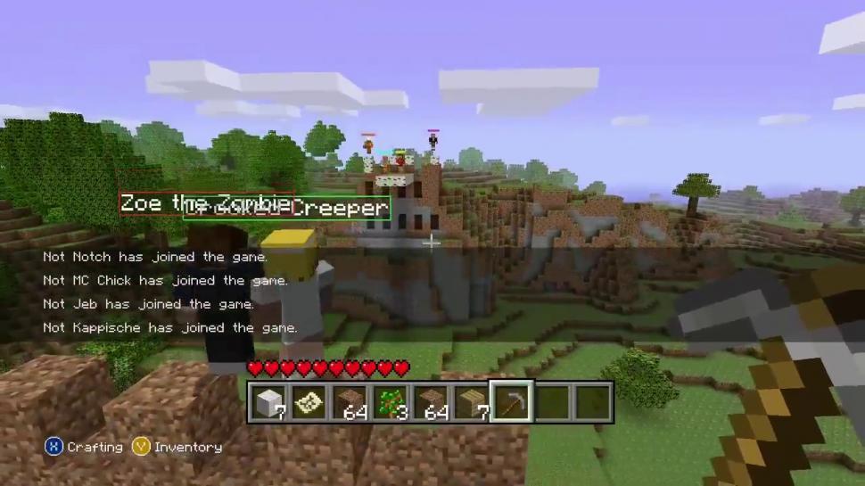 Minecraft Für Xbox Die Dinge Nerven An Der KonsolenVersion - Minecraft offline spiele