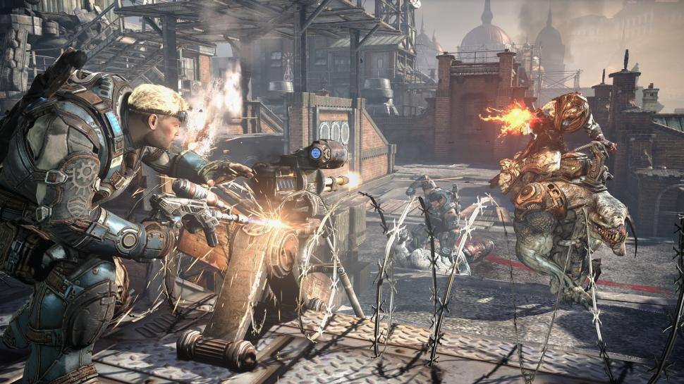 In einem Gameplay-Trailer stellt Epic Games den neuen DLC Lost Relics für Gears of War: Judgment vor. (1)