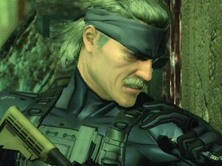 Solid Snake in Metal Gear Solid 4