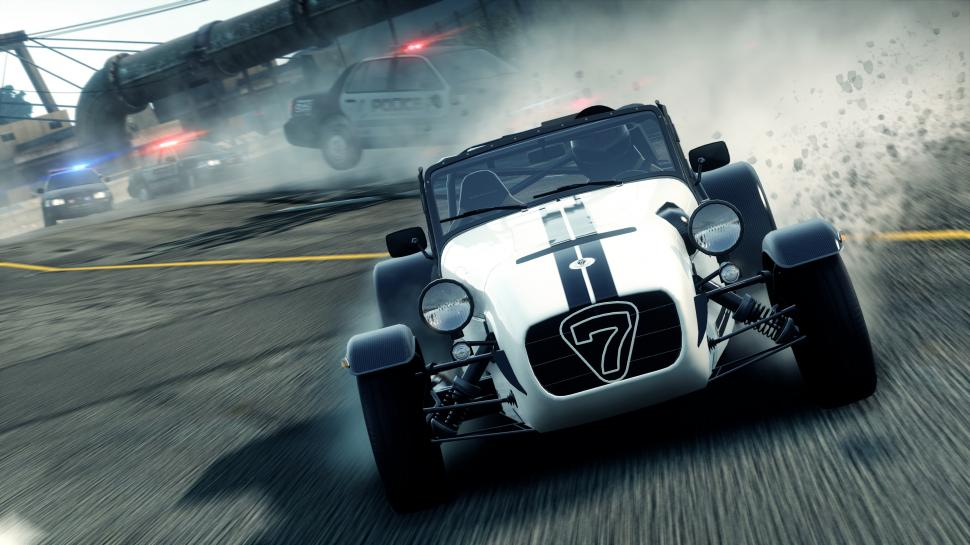 Screenshots aus unserem Hands-On-Test zu Need for Speed: Most Wanted 2.