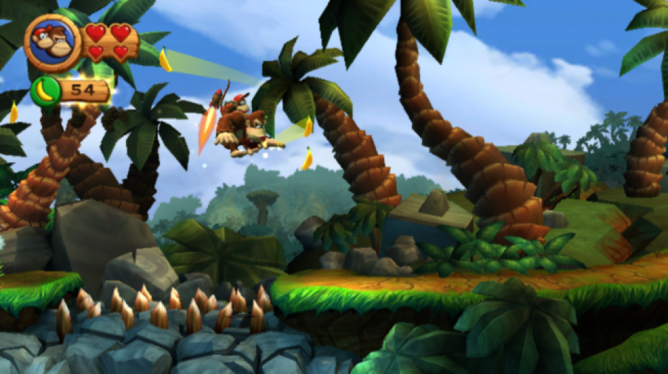 Platz 20: Donkey Kong Country Returns