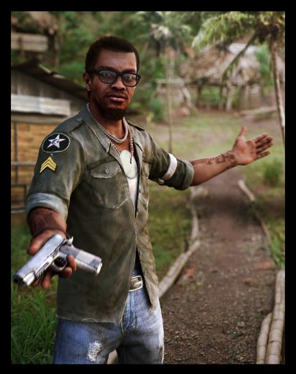 Dennis Rogers aus Far Cry 3.