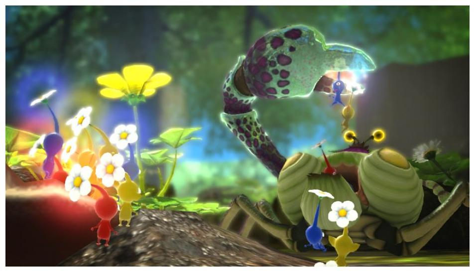 Pikmin 3 - Screenshots aus Teil 3 des Strategiespiels (1)