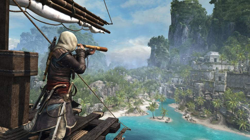 Assassin's Creed 4: Black Flag - Making-of-Video zum Live-Action-Trailer. (1)