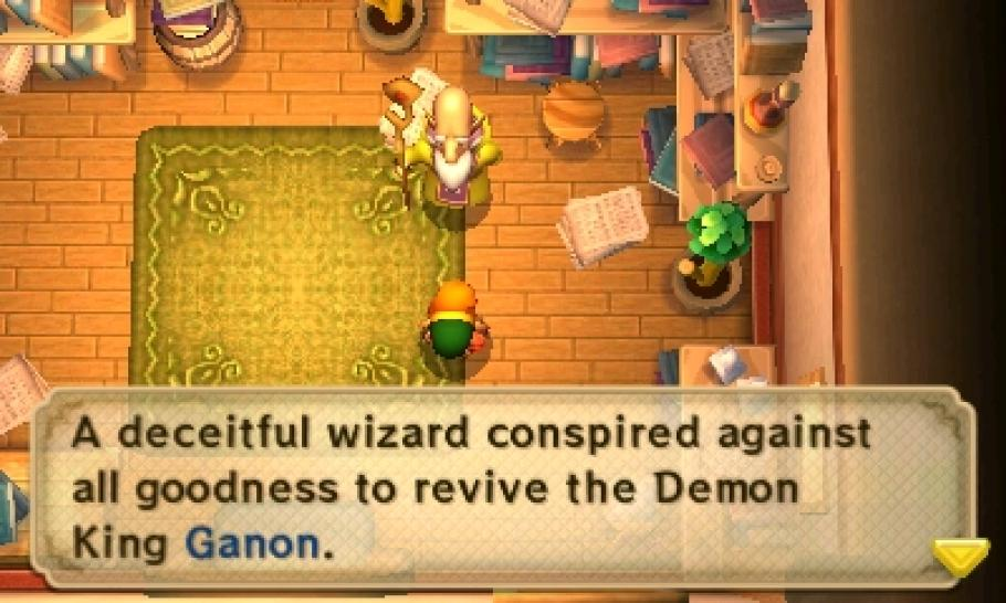 Zelda: A Link Between Worlds - Screenshots aus dem 3DS-Spiel (1)
