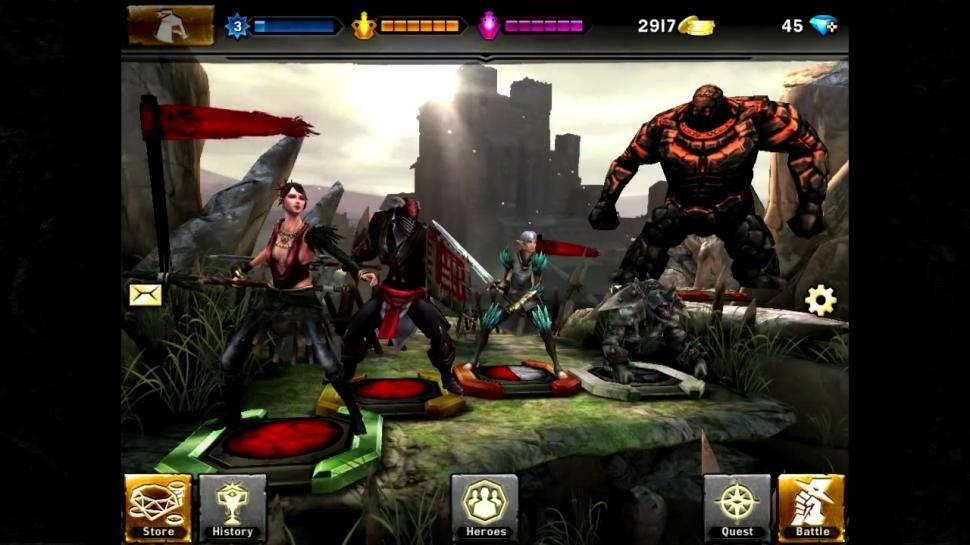 Heroes of Dragon Age ab Herbst 2013 für iOS- und Android-Geräte. (1)