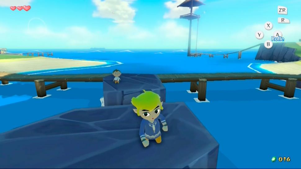 Zelda The Wind Waker HD - Screenshots aus der Wii U-Version (1)