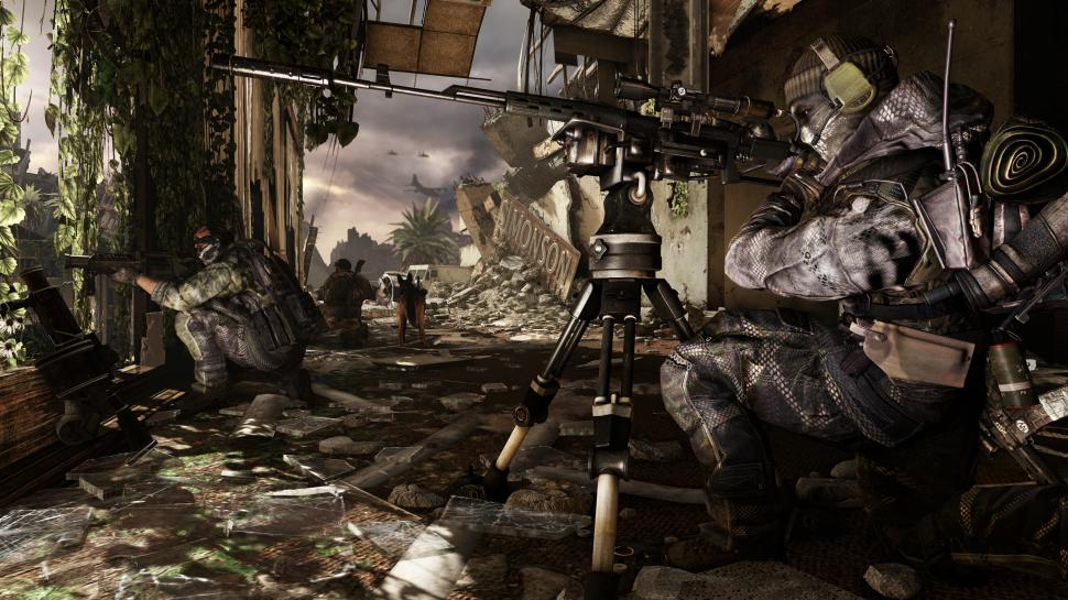 Call of Duty: Ghosts wird mit dem Onslaught-DLC versorgt. (1)