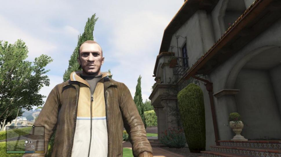 Niko Bellic in GTA 5: Ein Fan hat den passenden Skin in Grand Theft Auto 5 importiert. (1)