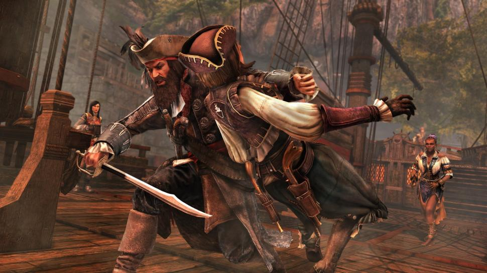 "In Assassin's Creed 4: Black Flag findet das Multiplayer-Event ""Miserly Shadows"" statt. (1)"