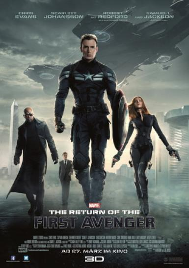 Captain America: The Return of the First Avenger startet erfolgreich in den deutschen Kinos. (1)