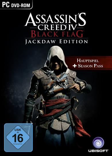 Assassin's Creed 4: Black Flag erscheint am 27. März 2014 als Jackdaw-Edition. (1)