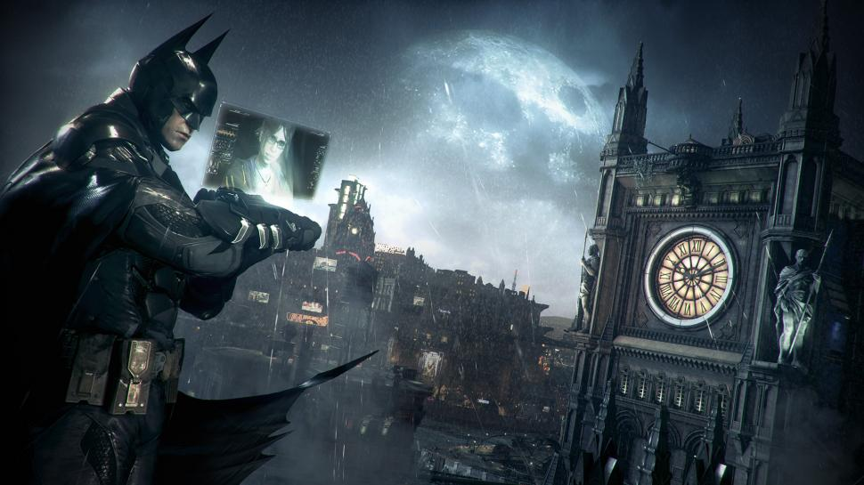 In Gotham City (Batman: Arkham Knight) wird es pausenlos regnen. (1)