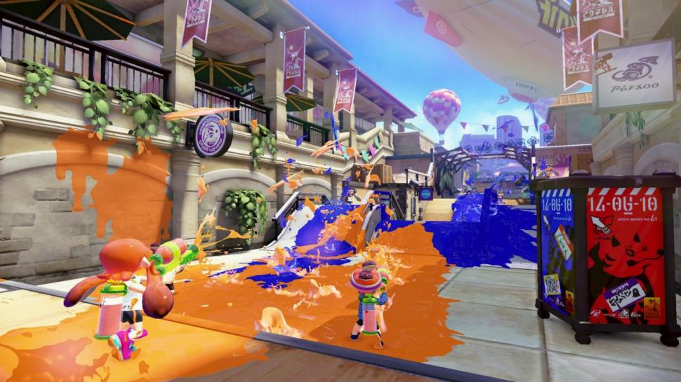 Splatoon: Neues Video zum knallbunten Action-Shooter. (1)