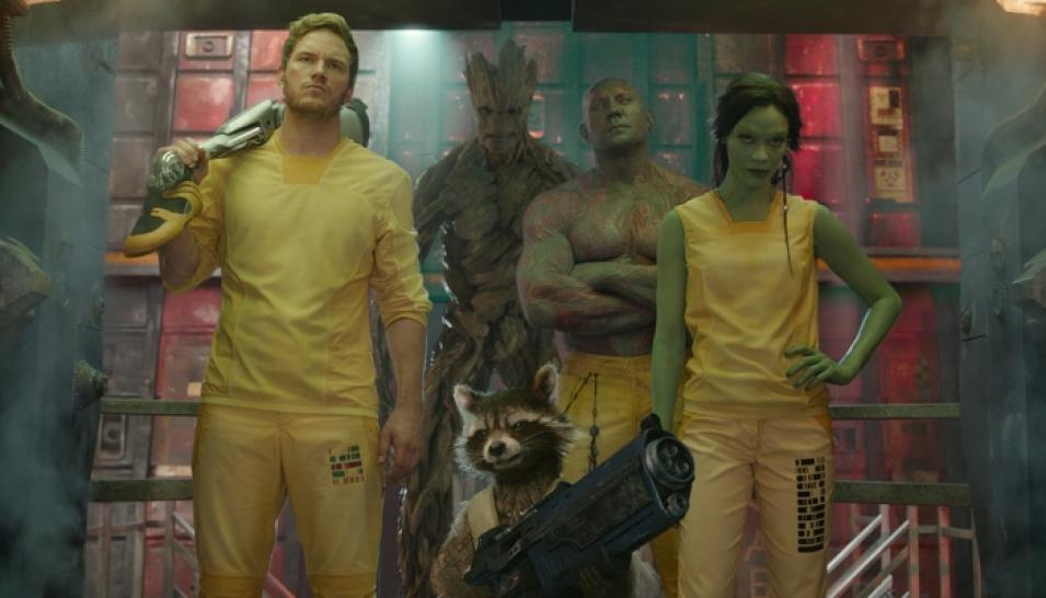 Guardians of the Galaxy stürmt die Kinocharts. (1)
