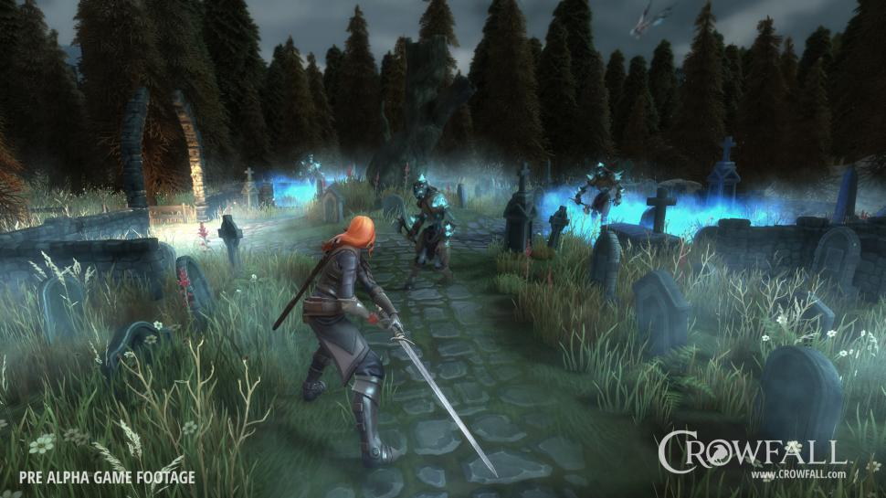Crowfall: The PvP MMO will be released in July 2021