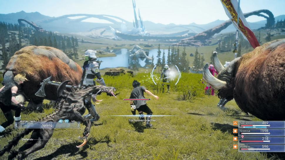 Square Enix teasert den Gamescom-Trailer zu Final Fantasy 15 an. (1)