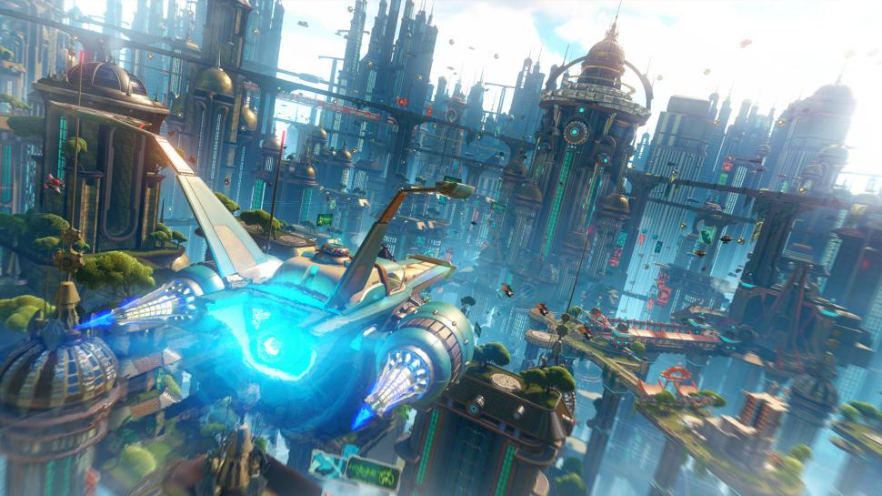 Ratchet & Clank: Insomniac Games zeigt neues Gameplay-Material aus dem PS4-Remake des Jump'n'Run-Klassikers. (1)