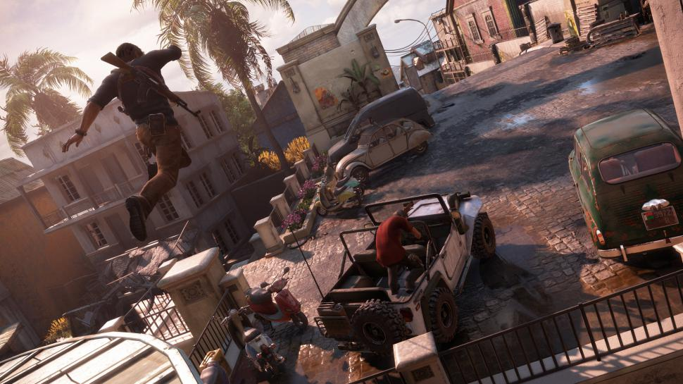 In unserem Video-Special stellen wir die Grafik-Highlights der E3 2015 vor. Welches Spiel hat euch grafisch am meisten beeindruckt? Bild: Uncharted 4 (1)