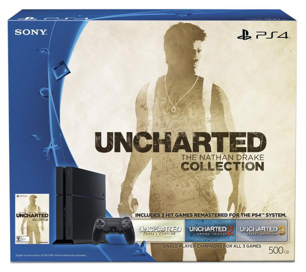 Für den Oktober kündigt Sony ein Nathan Drake Collection-PS4-Bundle an. (1)