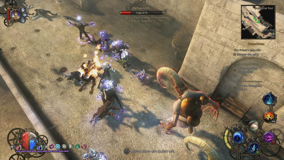 The Incredible Adventures of Van Helsing gibt's jetzt auch für Xbox One. (1)