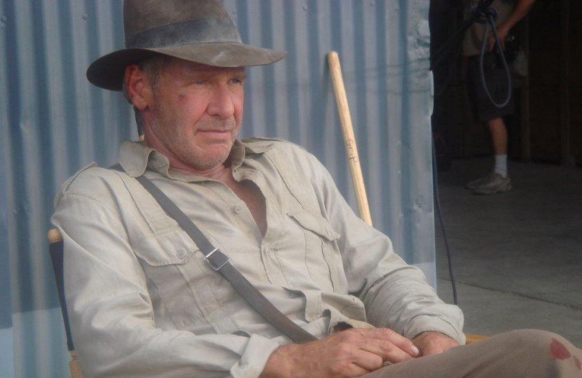 Indiana Jones 5: First picture of Harrison Ford on the set