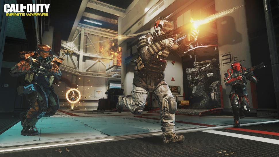 Call of Duty: Infinite Warfare bietet erstmals Crafting. (1)