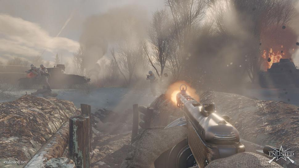 Enlisted: Open Beta of the 100-player shooter is imminent