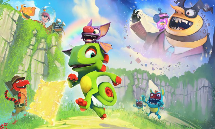 Yooka-Laylee: Playtonic is working on several sequels