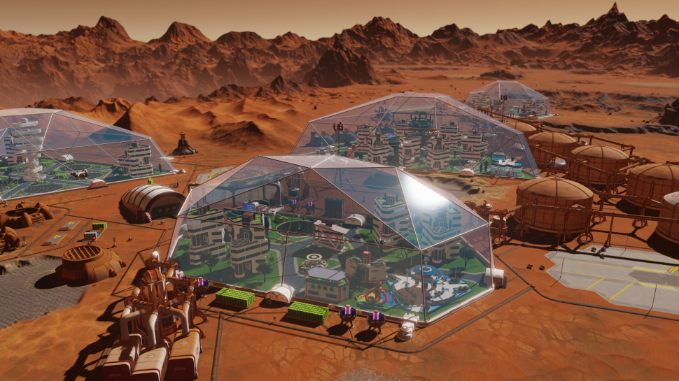 Surviving Mars: New developer takes care of upcoming content