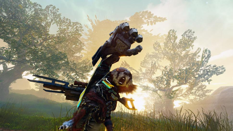 Biomutant: Gameplay from PS5 & Xbox Series X - lower resolution on PlayStation 5